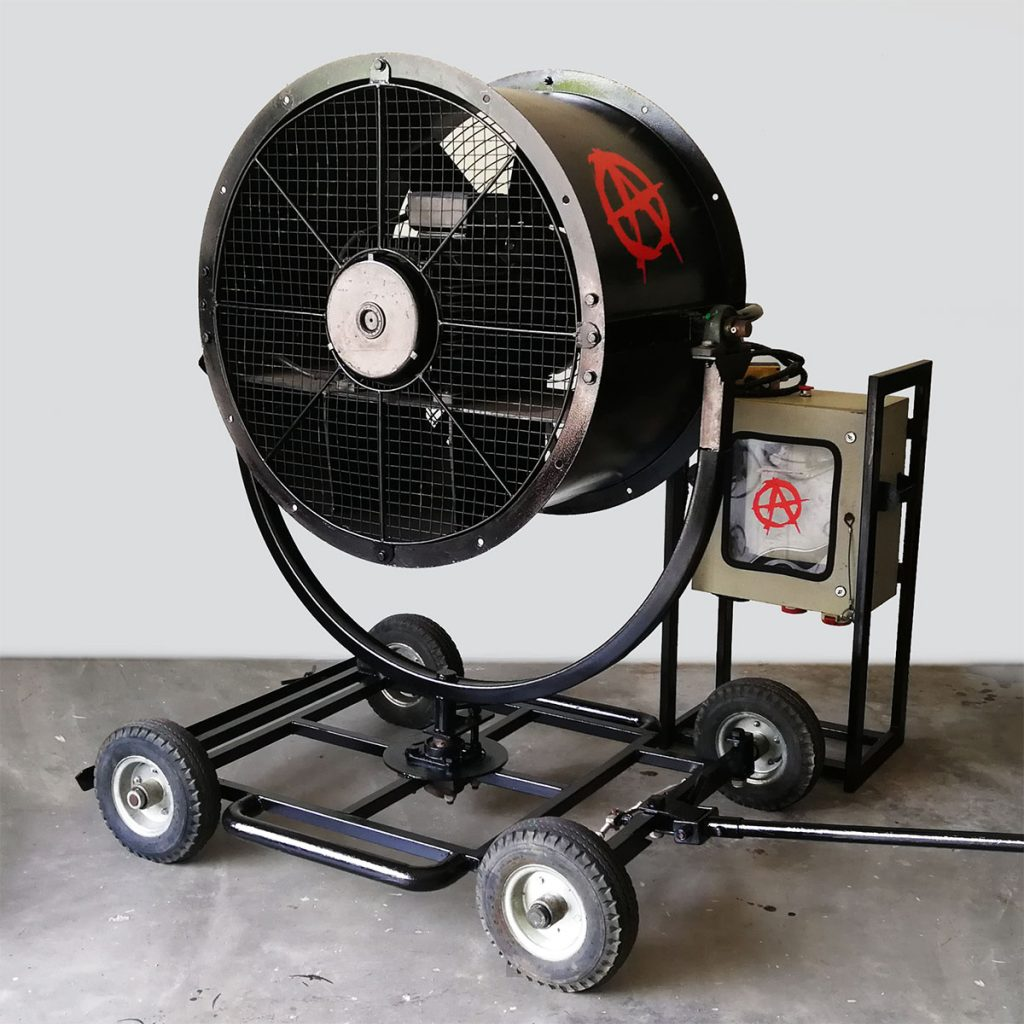 15kW Electric Wind Machine Image