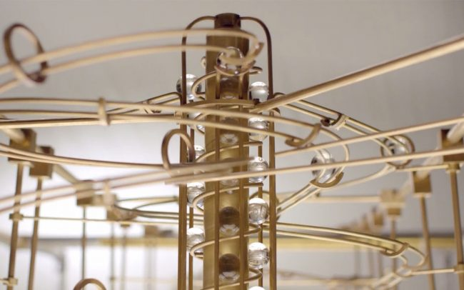 Maybank 'Rube Goldburg' machine by Adam Howarth