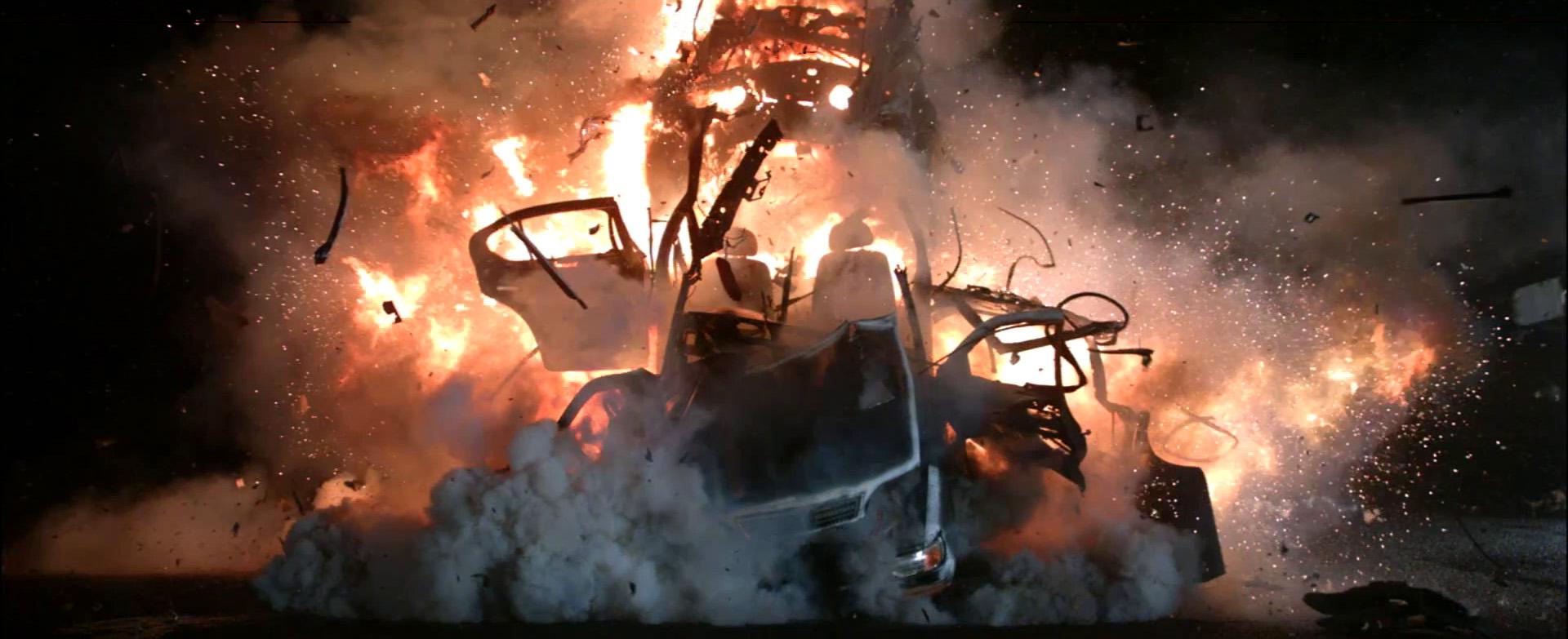 Car Explosion Test #1 - for 'Blackhat'