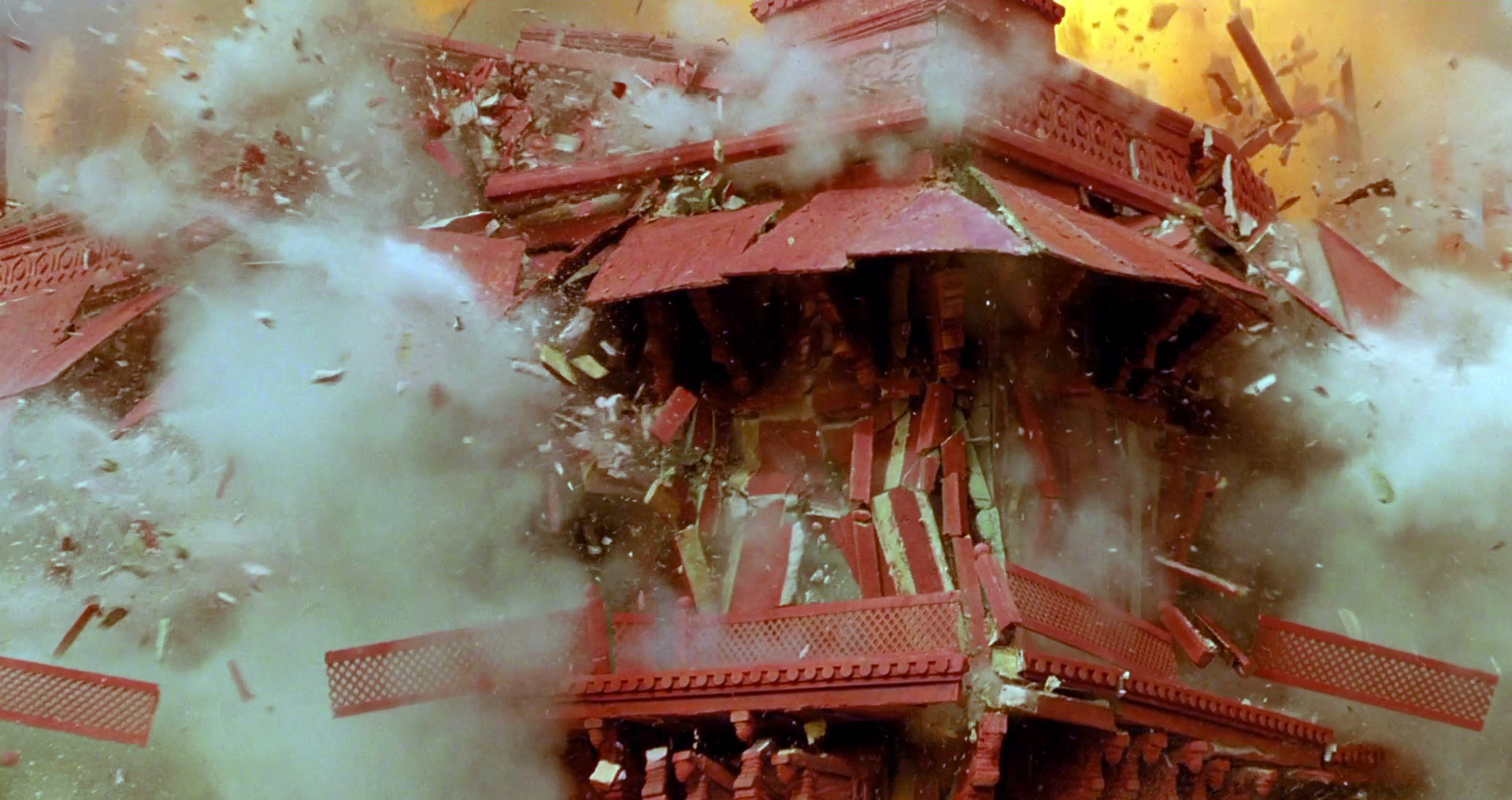 'The Fall' Temple Explosion