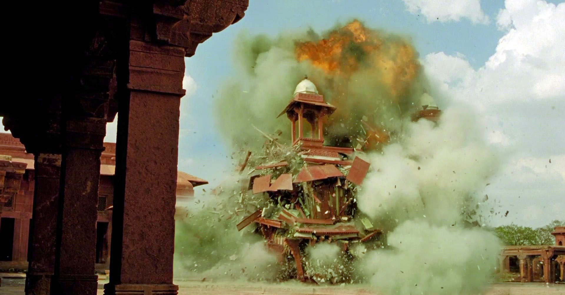 Miniature Explosion from 'The Fall'