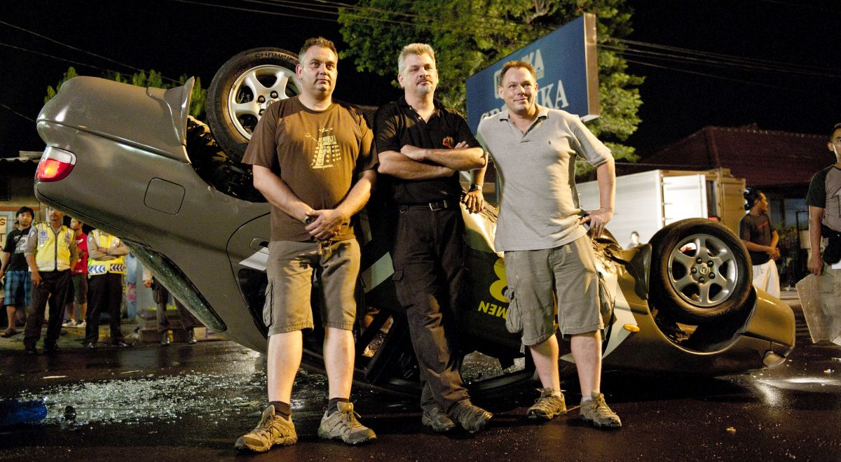 Special effects and stunts crew