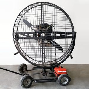 V-Twin Petrol Driven Wind Machine Image