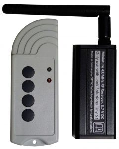 Remote for Tiny smoke machines Image